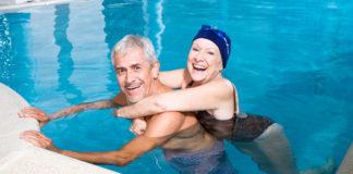 aktywność fizyczna, sport, po 60-tce, pływanie
