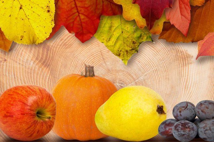 sezonowe owoce i warzywa