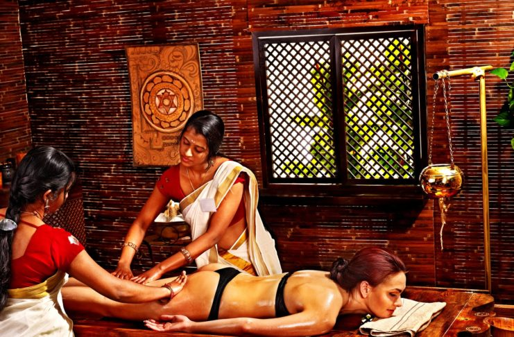 Ajurwedyjskie masaże